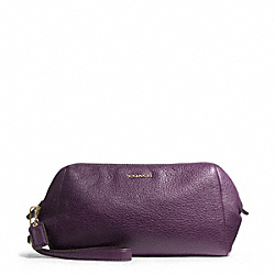 COACH MADISON LEATHER ZIP TOP LARGE WRISTLET - ONE COLOR - F49997