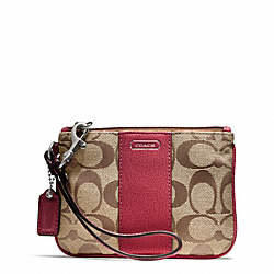 COACH PARK SIGNATURE SMALL WRISTLET - ONE COLOR - F50008