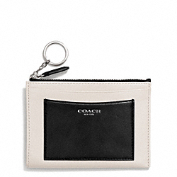 COACH TWO TONE LEATHER MEDIUM SKINNY - ONE COLOR - F50033