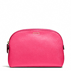 COACH DARCY COSMETIC CASE IN LEATHER - ONE COLOR - F50060