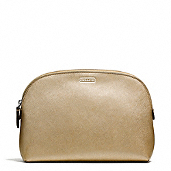 COACH DARCY LEATHER COSMETIC CASE - ONE COLOR - F50060