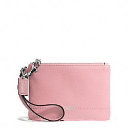 CAMPBELL LEATHER SMALL WRISTLET COACH F50078