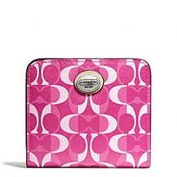 COACH PEYTON DREAM C SMALL WALLET - ONE COLOR - F50091