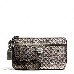 COACH TAYLOR SNAKE PRINT MEDIUM WRISTLET - ONE COLOR - F50106