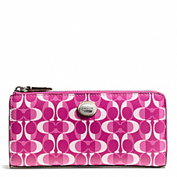 COACH PEYTON DREAM C SLIM ZIP - ONE COLOR - F50150