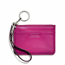 COACH CAMPBELL LEATHER ID SKINNY - ONE COLOR - F50167
