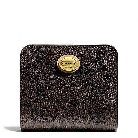 COACH f50176 PEYTON SIGNATURE SMALL WALLET