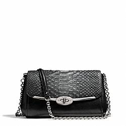 COACH MADISON GLITTER PYTHON CHAIN CROSSBODY - ONE COLOR - F50236