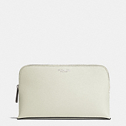 COACH MEDIUM SAFFIANO LEATHER COSMETIC CASE - AK/SOFT IVY - F50371