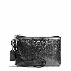 COACH GLITTER SMALL WRISTLET - ONE COLOR - F50374