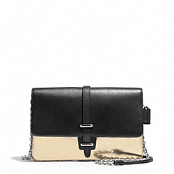 COACH MIRROR METALLIC SLIM CLUTCH - ONE COLOR - F50381