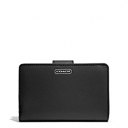 COACH DARCY LEATHER MEDIUM WALLET - ONE COLOR - F50431