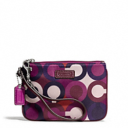 COACH PARK OP ART PRINT SMALL WRISTLET - ONE COLOR - F50434
