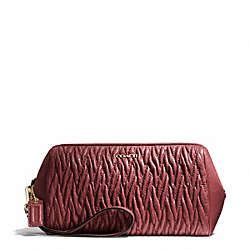 MADISON GATHERED TWIST LARGE WRISTLET COACH F50472