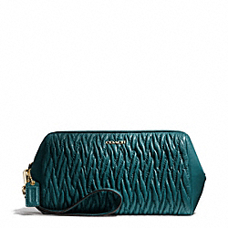 COACH MADISON GATHERED TWIST LARGE WRISTLET - ONE COLOR - F50472