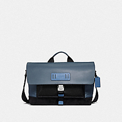 TERRAIN BIKE BAG - PVD BLUE/BLACK ANTIQUE NICKEL - COACH F50504
