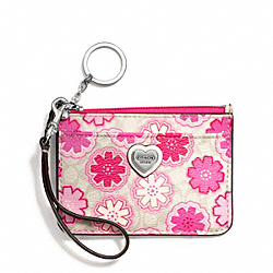 COACH FLORAL PRINT ID SKINNY - ONE COLOR - F50515