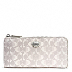 COACH PEYTON DREAM C SLIM ZIP - ONE COLOR - F50526