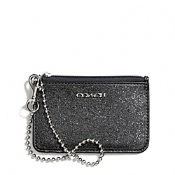 COACH GLITTER ID SKINNY - ONE COLOR - F50558