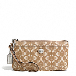COACH PEYTON DREAM C GO-GO WRISTLET - SILVER/LIGHT KHAKI/TAN - F50590