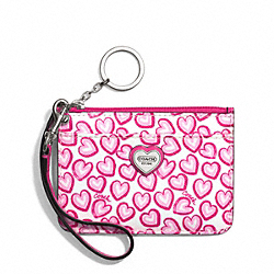 COACH HEART PRINT ID SKINNY - ONE COLOR - F50754