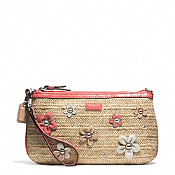 COACH STRAW LARGE WRISTLET - ONE COLOR - F50755