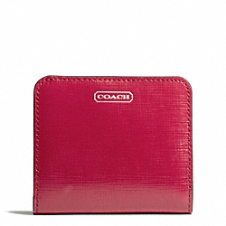 COACH DARCY PATENT LEATHER SMALL WALLET - ONE COLOR - F50777