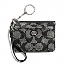 COACH PEYTON SIGNATURE ID SKINNY - ONE COLOR - F50795