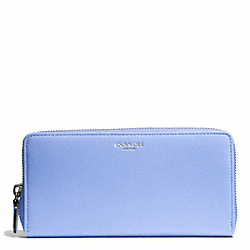 BLEECKER LEATHER ACCORDION ZIP WALLET - f50891 - SVCL1