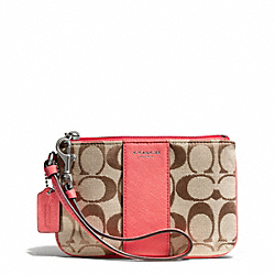COACH SIGNATURE SMALL WRISTLET - ONE COLOR - F50941