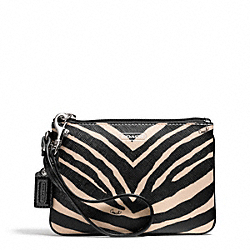 COACH ZEBRA PRINT SMALL WRISTLET - ONE COLOR - F51099