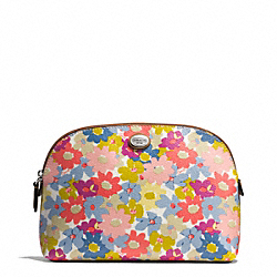COACH PEYTON FLORAL COSMETIC CASE - ONE COLOR - F51207