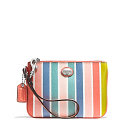 COACH PEYTON MULTISTRIPE SMALL WRISTLET - ONE COLOR - F51208