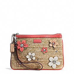 COACH STRAW MEDIUM WRISTLET - ONE COLOR - F51218
