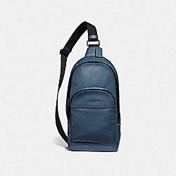 HOUSTON PACK - DENIM/BRASS - COACH F51224