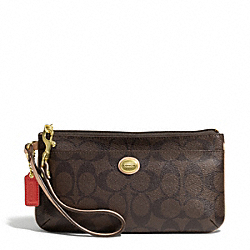COACH PEYTON SIGNATURE GO-GO WRISTLET - ONE COLOR - F51258
