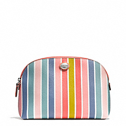 COACH PEYTON MULTISTRIPE COSMETIC CASE - ONE COLOR - F51282