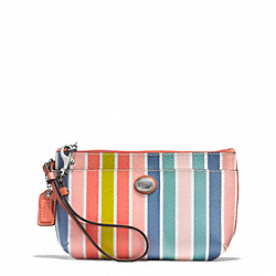 COACH PEYTON MULTISTRIPE MEDIUM WRISTLET - ONE COLOR - F51319