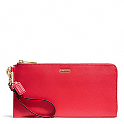 COACH DARCY LEATHER HOLDALL WALLET - ONE COLOR - F51352