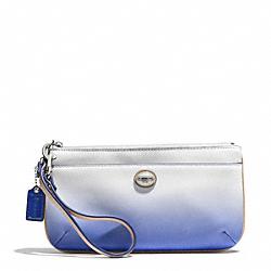 PEYTON OMBRE GO-GO WRISTLET - f51380 - SILVER/PORCELAIN BLUE