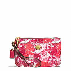 COACH PEYTON FLORAL PRINT MEDIUM WRISTLET - ONE COLOR - F51752
