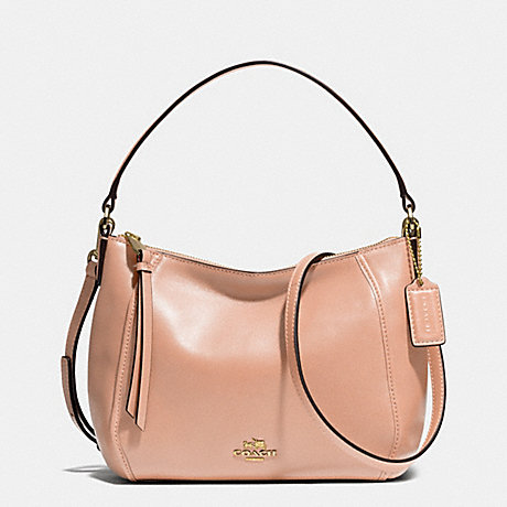 COACH f51900 MADISON TOP HANDLE IN LEATHER  LIGHT GOLD/ROSE PETAL