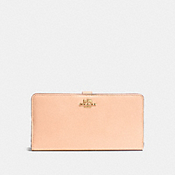 COACH SKINNY WALLET IN LEATHER - LIAPR - F51936