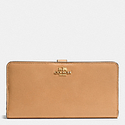 COACH SKINNY WALLET IN LEATHER - LILQD - F51936