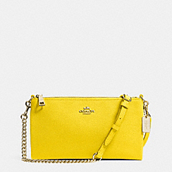 COACH KYLIE CROSSBODY IN EMBOSSED TEXTURED LEATHER - LIYLW - F52385