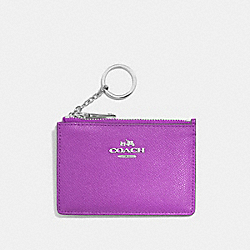 MINI SKINNY ID CASE - SV/ORCHID - COACH F52394