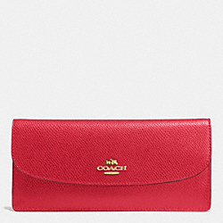COACH SOFT WALLET IN LEATHER - IME8B - F52689