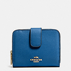 COACH MEDIUM ZIP AROUND WALLET IN LEATHER - IMDEN - F52692