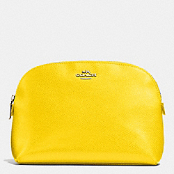 COACH COSMETIC CASE IN LEATHER - IMYLW - F52697