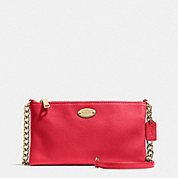 COACH QUINN CROSSBODY IN PEBBLE LEATHER - IME8B - F52709